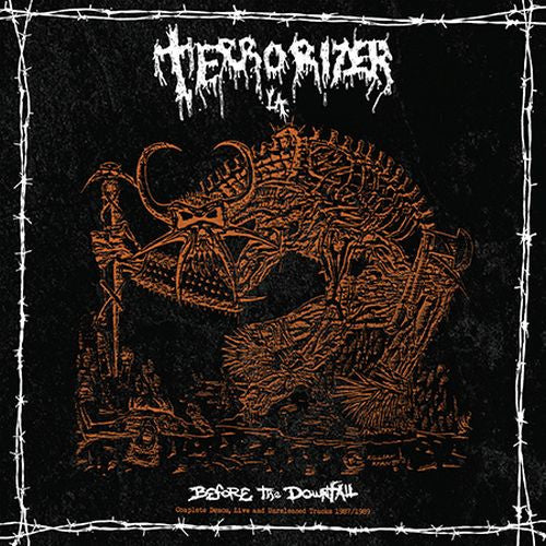 Terrorizer (L.A.), Before The Downfall: Complete Demos, Live And Unreleased Tracks 1987-1989 2LP