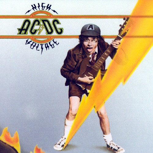 AC/DC, High Voltage LP