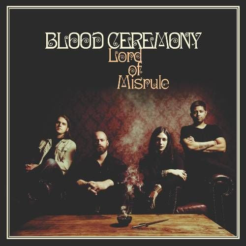 Blood Ceremony, Lord Of Misrule LP (Red Vinyl)