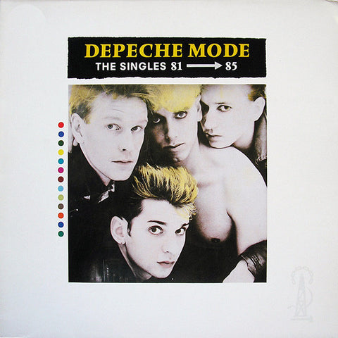 Depeche Mode, The Singles 81 - 85 LP