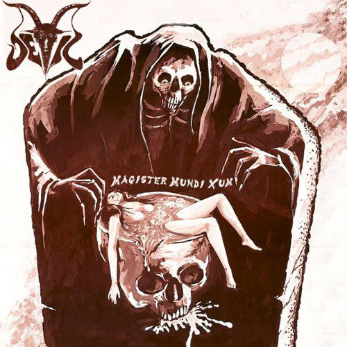 "Deleted - Devil (Norway), Magister Mundi Xum 10"" mini LP"