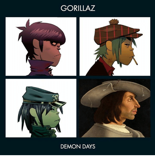Gorillaz, Demon Days 2LP