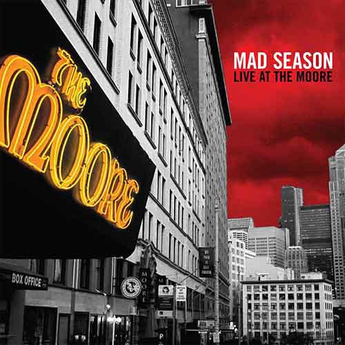 Mad Season, Live At The Moore 2LP