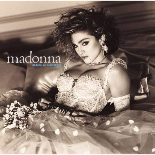 Madonna, Like A Virgin LP (white vinyl)