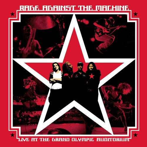 Rage Against The Machine, Live At The Grand Olympic Auditorium 2LP