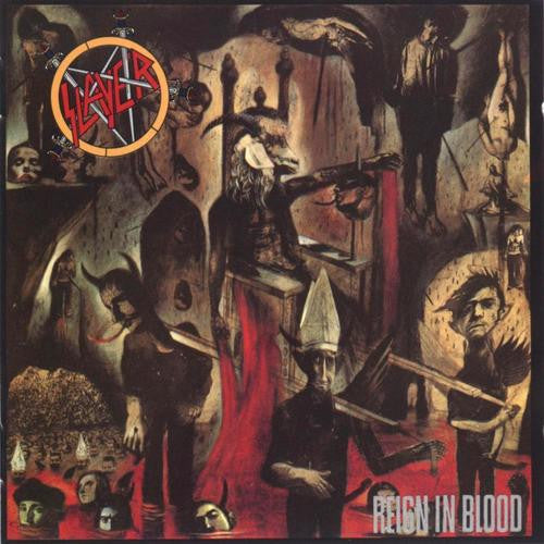Slayer, Reign In Blood LP