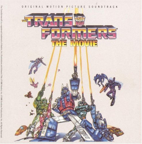 Transformers The Movie OST LP