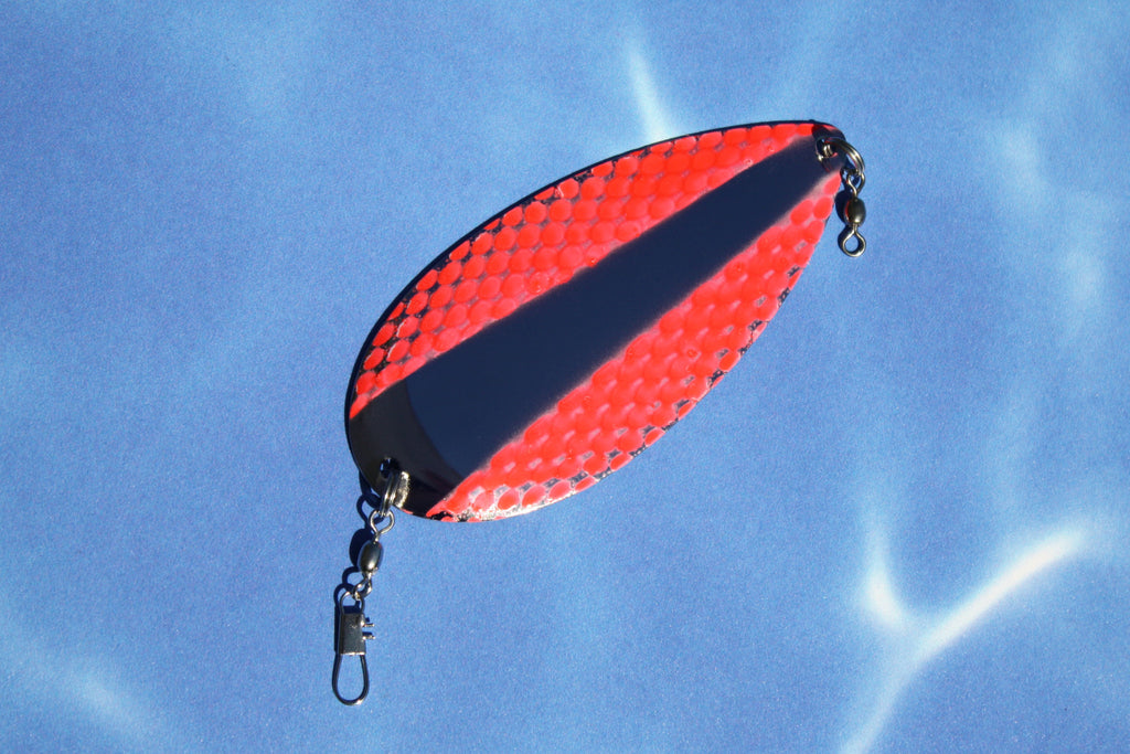 ARROW FLASH DODGER - UV FLAME NETTED WING