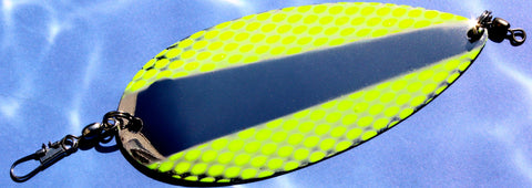 ARROW FLASH DODGER - UV CHARTREUSE NETTED WING