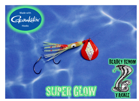 "DIAMONDBACK SQUID - UV FATAL FURY ""SUPER GLOW"""