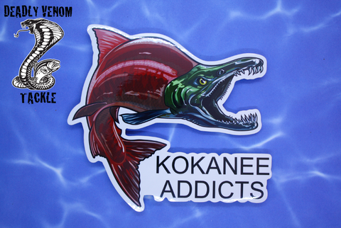 KOKANEE ADDICTS STICKER