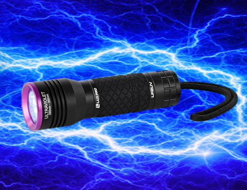 "LUX PRO UV 9 LED ""SUPER GLOW CHARGING"" LIGHT"