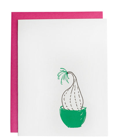 Elephant Foot Plant card