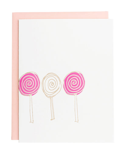 Lolipop card