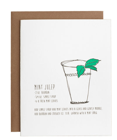 Mint Julep card