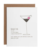 Manhattan card