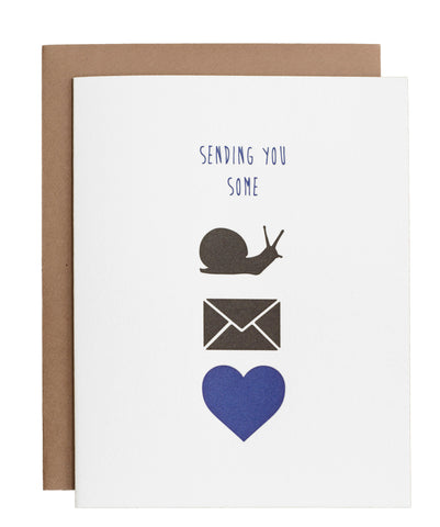 Snail Mail Love card