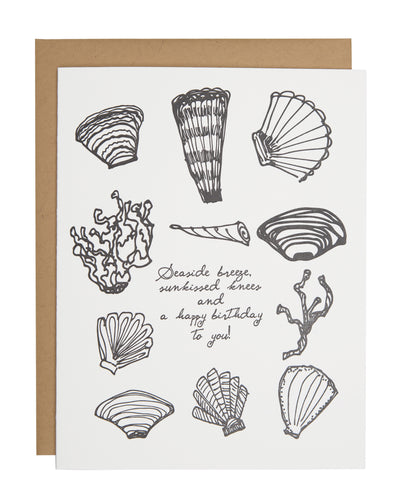 Seashell Collection card