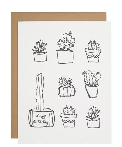 Cactus Collection card