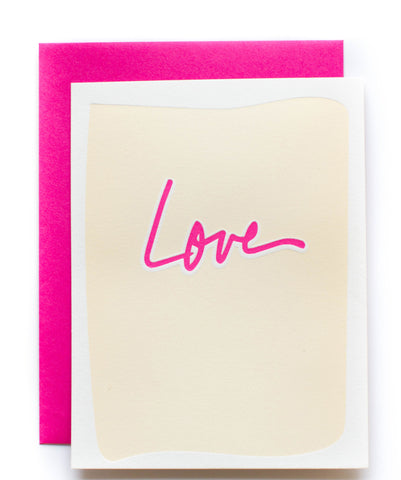 Love Block card