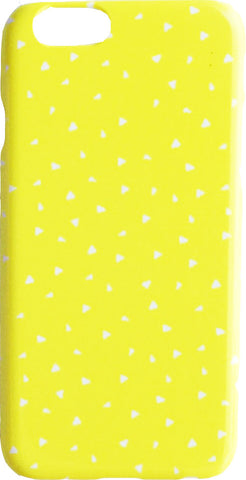 Yellow Confetti iPhone 6 Cover