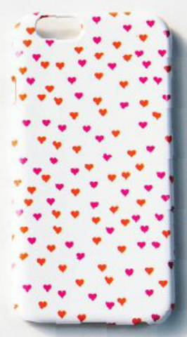 Pink and Red Hearts iPhone 6 Cover