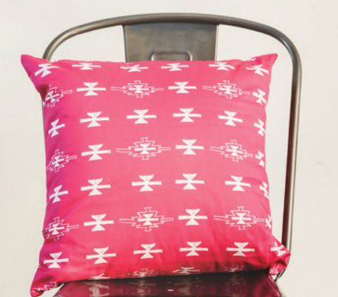 Pink Haze pillow