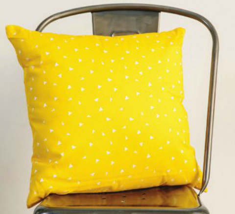 Yellow Confetti pillow