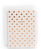 Mom Polka Dots card