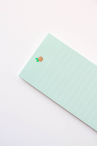 Rose Notepad