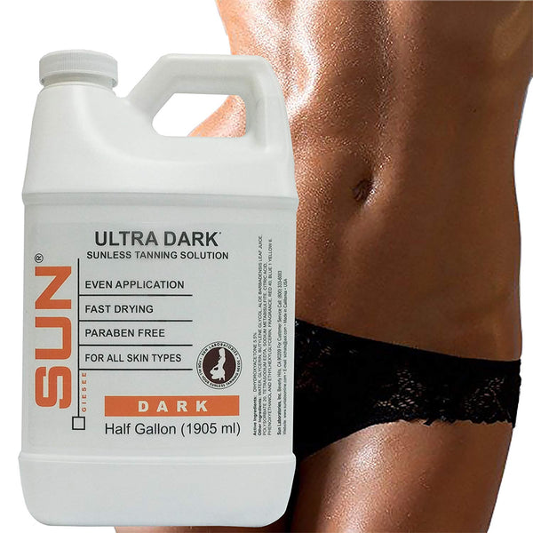 Dark Self Tanning Micro Mist (1/2 Gallon) for Airbrush Tanning