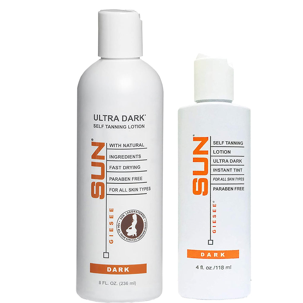 SUN SELF TANNING LOTION ULTRA DARK INSTANT TINT- For Medium to Dark Skin Tones
