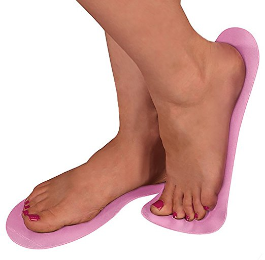 Sticky Feet Pink - 25 Pairs