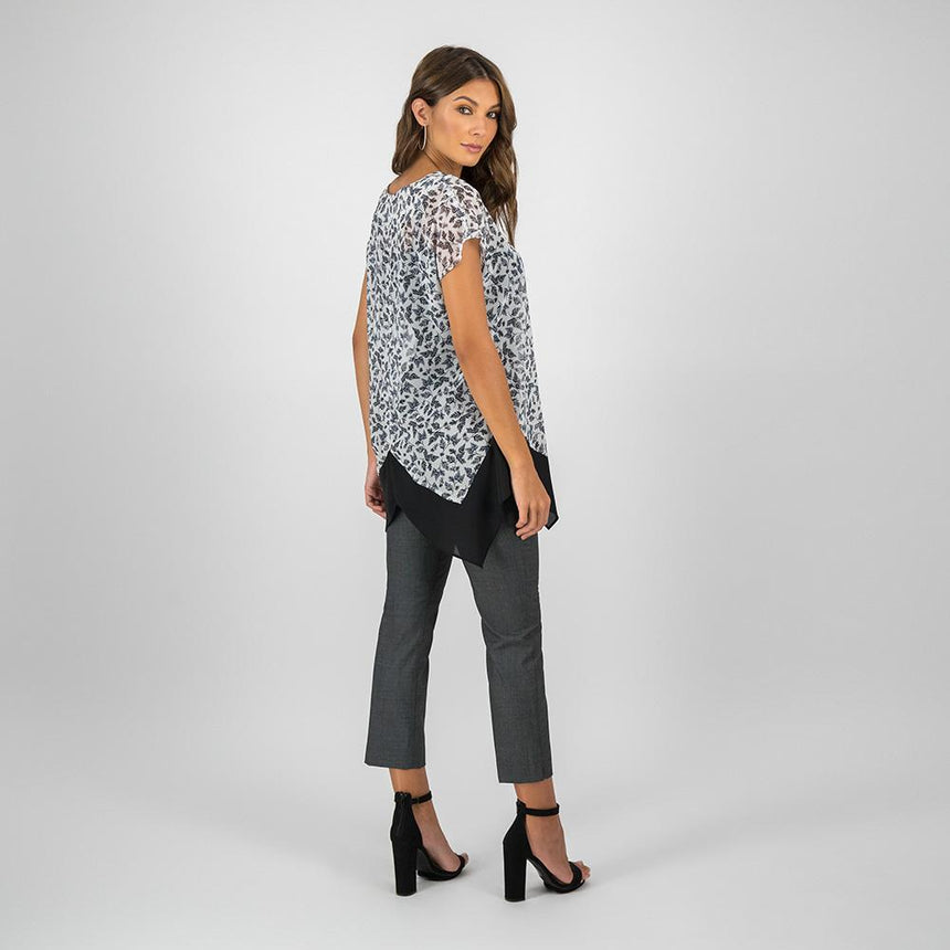 Blusa estampado animal print