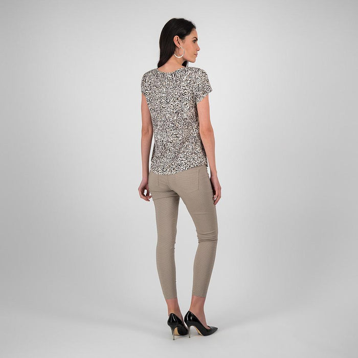 Blusa Catania estampado animal print