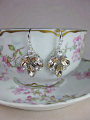 Champagne Bridal Earrings