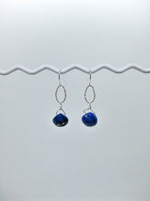 Load image into Gallery viewer, Chrysanthe: Lapis Earrings - e531