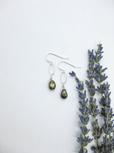 Load image into Gallery viewer, Chrysanthe: Pyrite Earrings - e532
