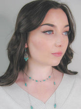 Load image into Gallery viewer, Teal: Turquoise Necklace - n425