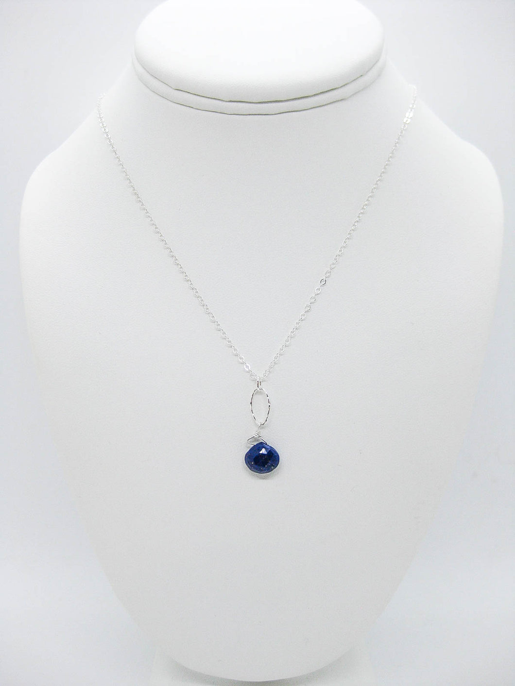Chrysanthe: Lapis Necklace - n404