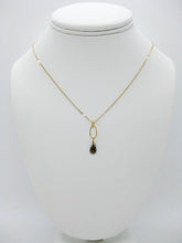 Load image into Gallery viewer, Chrysanthe: Green Tourmaline Necklace - n407