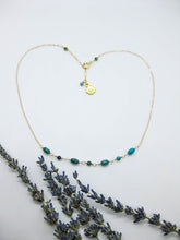 Load image into Gallery viewer, Paloma: Turquoise Necklace - n424
