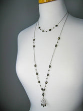 Load image into Gallery viewer, Olive: Pyrite Necklace - n426