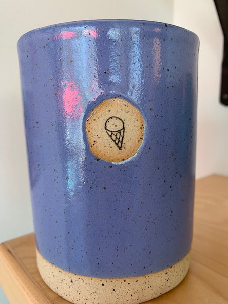 Merry Dairy Pottery Pints by Steffi Acevedo Art!