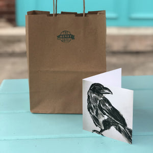 Crow Cards By Francie - Creatures of Habit-at