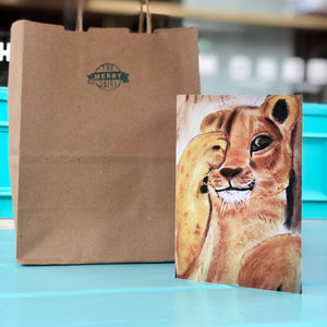 Lion Cards By Francie - Creatures of Habit-at