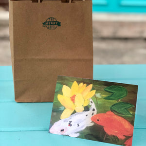 Koi Cards By Francie - Creatures of Habit-at