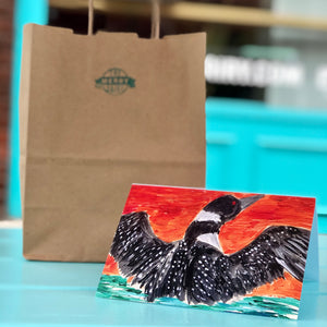 Loon Cards By Francie - Creatures of Habit-at