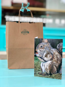 Squirrel Cards By Francie - Creatures of Habit-at