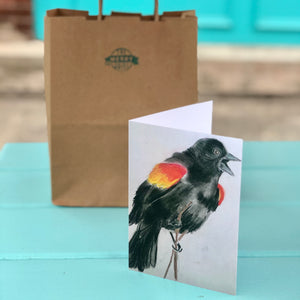 Blackbird Cards By Francie - Creatures of Habit-at